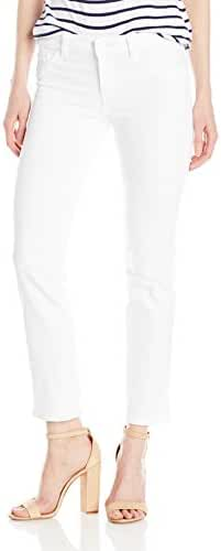 DL1961 Women's Mara Instasculpt Straight Jeans in Milk