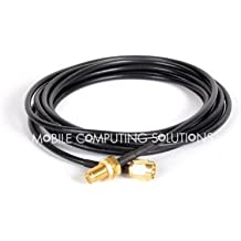 RP-SMA Male to RP-SMA Female Wifi Antenna Extension Cable 2m/6'