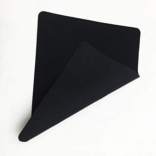 Gaming Black SBR Neoprene Rubber Mouse Pad 22X18X0.12cm