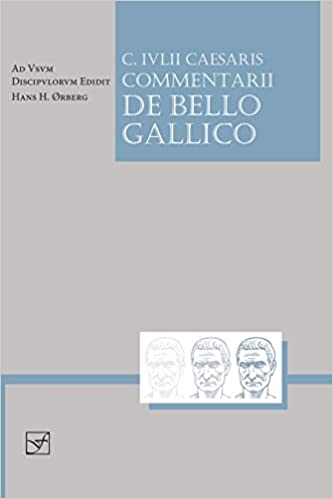 Amazon Com Caesaris Commentarii De Bello Gallico Lingua Latina Latin Edition 9781585102327 Caesar ørberg Hans H Books