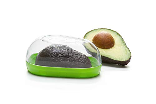 Prepworks by Progressive Avocado Keeper - Keep Your Avocados Fresh for Days,  Snap-On Lid, Avocado Storage Container – Prevent Your Avocados From Going Bad, Pack of 2