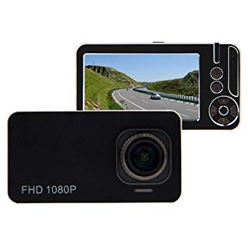 Uniqus G636 2.7 inch Screen Display Car DVR Recorder, Support Loop Recording Motion Detection G-Sensor Night Vision Function