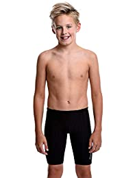 Accelerate Swim Jammers - Size 21 to 32 Swimming Jammer Shorts for Boys in Black, Navy, and Blue