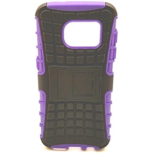 Galaxy S7 dual layer armor case with kickstand (purple) Sales