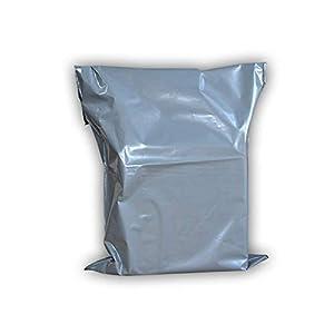 ARPAN - Bolsas de plástico autoadhesivas (10 mm de ancho), color gris