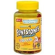 Flintstone Vitamin Toddler Gummies 80ct (Pack of 2)