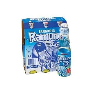 Ramune Japanese soda Original 6.76 oz x 6 pack Imported from Japan