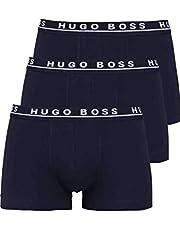 BOSS Boxershorts för män (3-pack), Blå (Open Blue 480), M