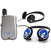 PockeTalker Ultra w/ Headphone & FREE Behind the Head Headphones