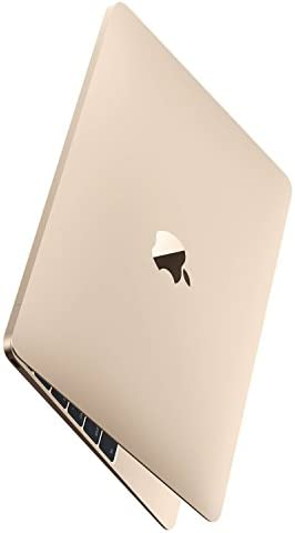 Apple Gold Macbook – MK4N2LL/A Core M-5Y51 1.2GHz (up to 2.6GHz), 8GB RAM,512GB SSD, 12″ Retina IPS, Laptop (Renewed)