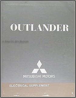 2008 mitsubishi outlander wiring diagram manual original: mitsubishi:  amazon.com: books  amazon.com