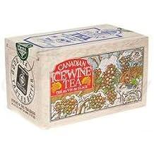 The Metropolitan Tea Company 62WD-618B-026 Ice Wine Tea 25 Teabags in Wood Box