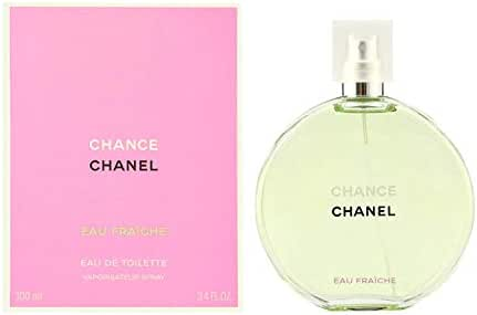 Chaneⅼ Chance Eau Fraiche Eau de Toilette Women Spray 3.4 Fl. OZ. / 100ML.