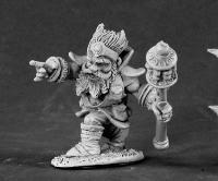 Reaper Miniatures 3455 Dwarf Wizard by Reaper