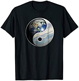 Planet Earth Yin -Yang T-shirt