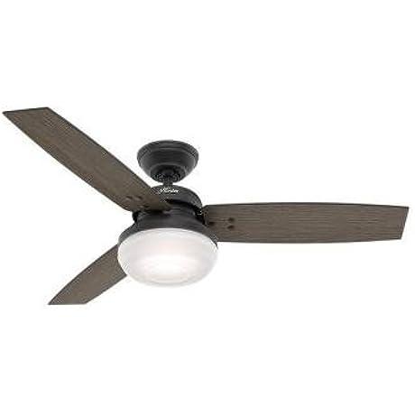Hunter 59189 Camino 48 In Indoor Weathered Zinc Ceiling Fan