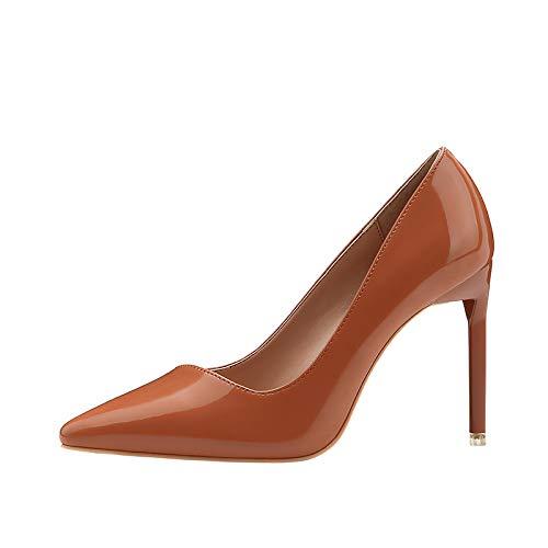 FLYRCX Europäische Art einfache Art und Weise spitzes Flaches Mund High Heels sexy Stiletto Schuhe B07KBXTL7R Tanzschuhe Keine Begrenzung zu üben