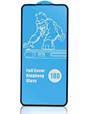 18D glass screen protection with anti-shock rubber edges for Samsung Galaxy A72