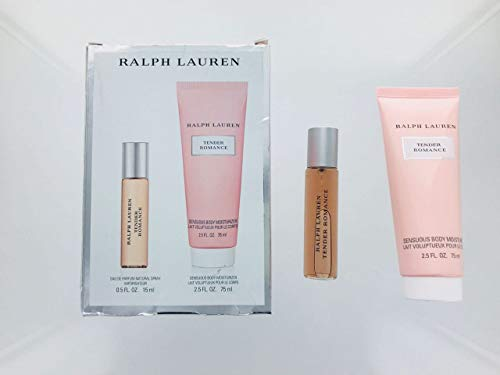 Ralph Lauren- Tender Romance Women 2Piece Mini Set (15 Ml Eau De Parfum Spray/ 2.5 Sensuous Body Moisturizer)