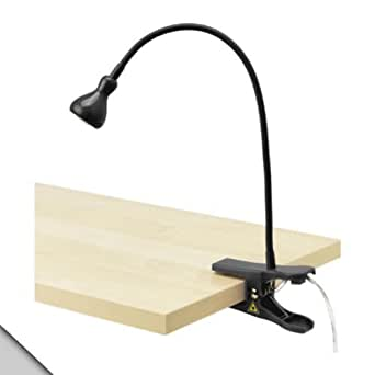 IKEA - JANSJÖ Clamp spotlight, Black