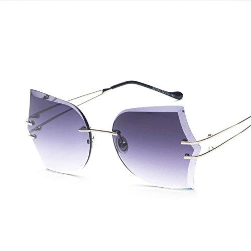sol sol de TL mujer lente UV Gafas de Sunglasses Viajes gafas Gafas de ojo gato de hombres lujo sol de OxOBCw4n