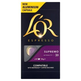 Lor Espresso Supremo Intensity 10 Nespresso Compatible coffee Capsules