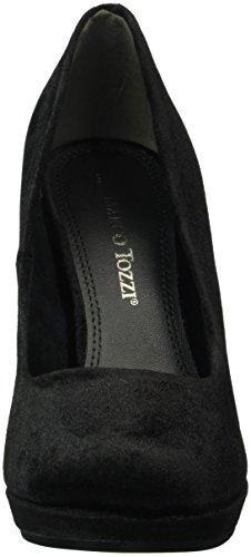 Marco Tozzi 22433, Zapatos de Tacón para Mujer Negro (BLACK VELVET 048)