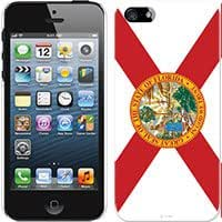 Cellet Proguard with Florida Flag for Apple iPhone 5 Hard Case Cover Snap-On