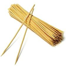 National Bamboo Skewer Stick 6 Inch - 90 Pcs