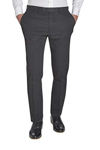 next Homme Pantalon sans pinces Gris 26 / Short - Skinny Fit