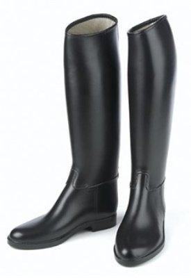 Mens Black Riding Boots - 2