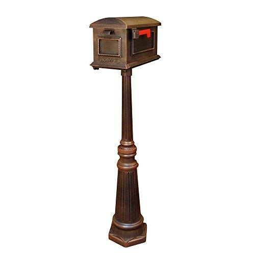 - Special Lite Traditional Curbside Mailbox with Tacoma Mailbox Post Unit