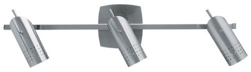 Bathroom Wall Spotlight - Access Lighting 52019-BSOdyssey 3-Light Ceiling/Wall Spotlight Rail, Brushed Steel