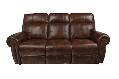 New Classic Furniture 20-2360-30-PEC Roycroft Sofa, Manual, Pecan