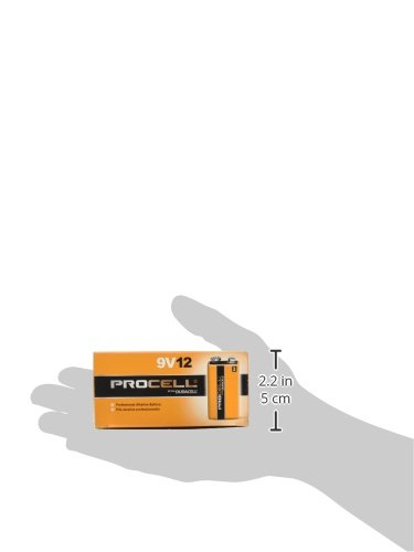 9V Duracell Procell Alkaline Batteries 12//Box