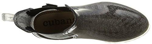 Cubanas RAINY600 - Botas para mujer Silver