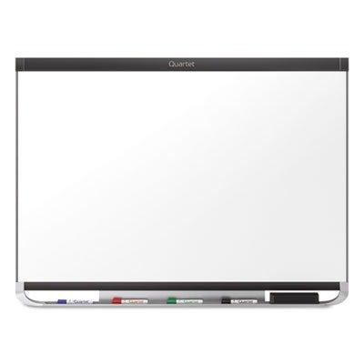 Quartet Prestige 2 DuraMax Porcelain Magnetic Whiteboard, 3 x 2 Feet, Black Frame (P553BP2)