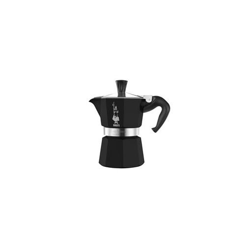 Bialetti Moka Express 1-Cups BLACK lacquered [ Italian Im...