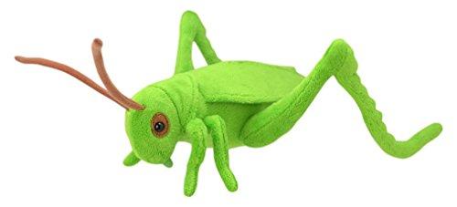 Wild Planet K8193 Grasshopper Classic Plush Toy, 35 cm, Multicolour (Giant Grasshopper)