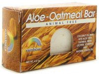 Rainbow Research Bar Soap, Aloe-Oatmeal - 4.2 Oz, ( Pack of 4) -