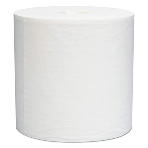 WypAll 05830 L30 Towels, Center-Pull Roll, 8 x 15, White, 150 per Roll (Case of 6 Rolls) (Wypall L30 Roll Wipers)