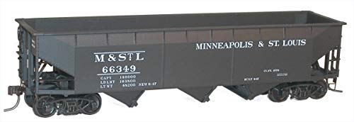HO KIT 70-Ton Offset Triple Hopper, M&StL