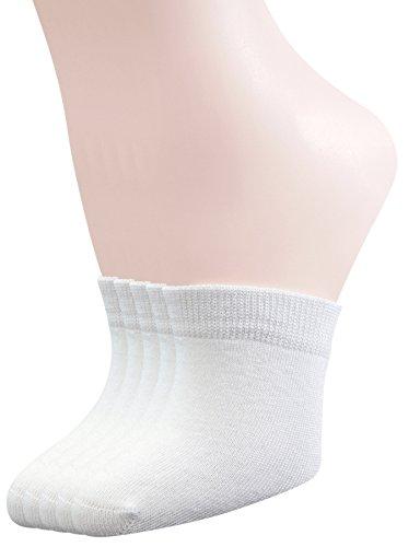 (Yomandamor Womens 5 Pairs Bamboo Toe Topper Liner Socks Half Socks with Seamless Toe)