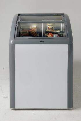 Avanti CFC43Q0WG Commercial Convertible Freezer/Refrigerator, White - Ice Cream Freezer
