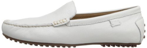 Polo Ralph Lauren Men's Woodley Slip-On Loafer,White,9.5 D US