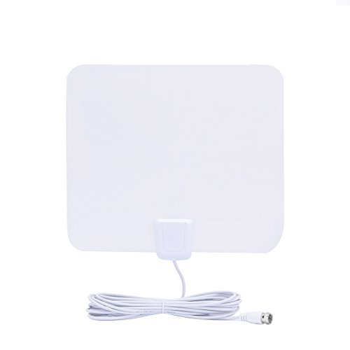 Amazon.com: DealMux 25 Mile Faixa Indoor Digital HDTV Antena com 16 pés de comprimento Cabo: Electronics
