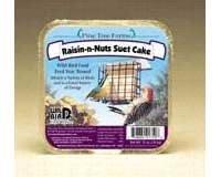 Pine Tree 1750 Raisin N Nuts Suet Cake, 12-Ounce