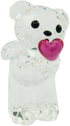 Swarovski Blowing Kisses Kris Bear Crystal Figurine – Retired 1016623