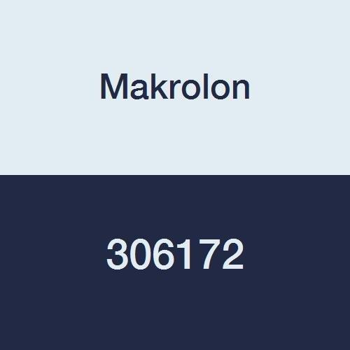 Makrolon AR Abrasion-Resistant Clear Transparent Polycarbonate Sheet, 1/2