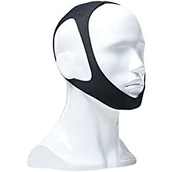 Medicee Soft Lightweight Neoprene Anti-slip Prevention Head Chin Snoring Strap, 2 Ounce
